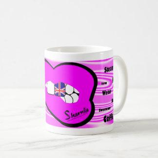 Sharnia's Lips UK Mug (PINK Lip)