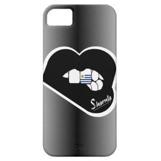 Sharnia's Lips Uruguay Mobile Phone Case Blk Lips
