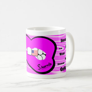 Sharnia's Lips USA Mug (PINK Lip)