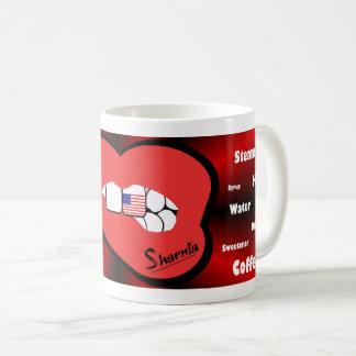 Sharnia's Lips USA Mug (RED Lip)