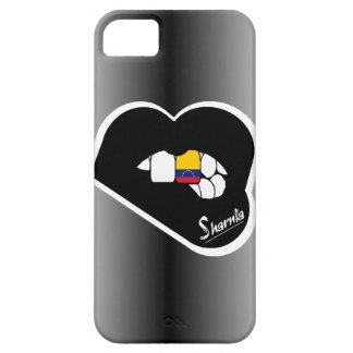 Sharnia's Lips Venezuela Mobile Phone Case Blk Lp