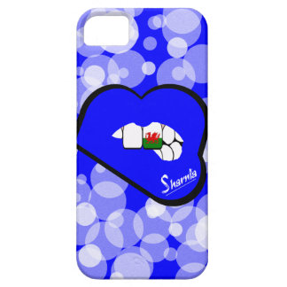 Sharnia's Lips Wales Mobile Phone Case (Blu Lips)