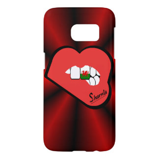 Sharnia's Lips Wales Mobile Phone Case (Rd Lips)