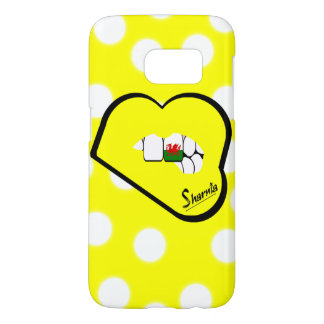 Sharnia's Lips Wales Mobile Phone Case (Yl Lips)