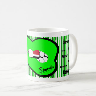 Sharnia's Lips Yemen Mug (GREEN Lip)