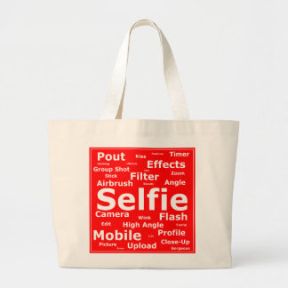 Sharnia's Selfie Jumbo Tote Bag