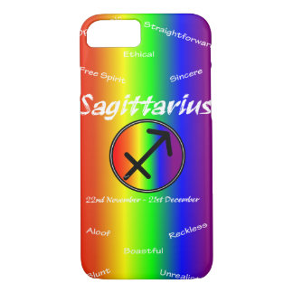 Sharnia Sagittarius Mobile Phone Case (Rainbow)