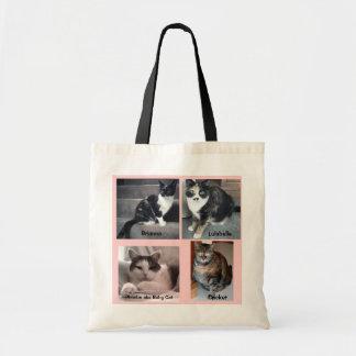 Sharon Dreyers Kitties on a Tote Bag