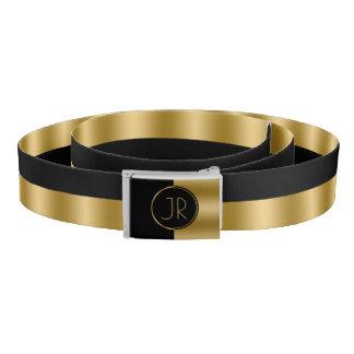 Sharp Black & Gold Geometric Design
