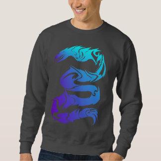 Sharp Blue Dragon Shirts