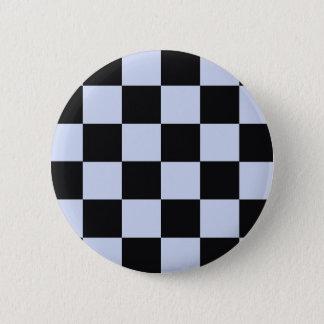 Sharp checkerboard 2 inch round button