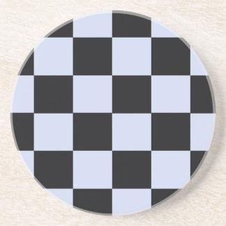 Sharp checkerboard coaster