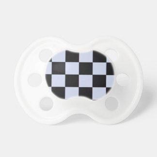 Sharp checkerboard pacifier