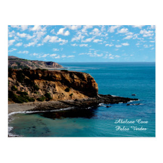 Sharp Cliff Abalone Cove, Palos Verdes Post Card