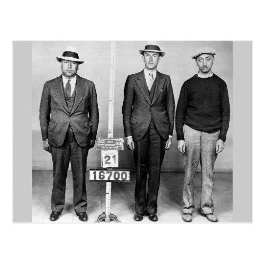 Sharp Dressed Men: 1933 Postcard