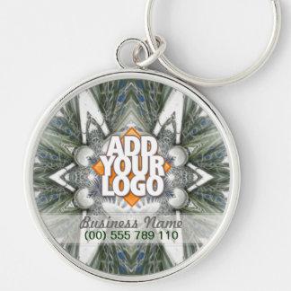 Sharp Edge Tribal Geometric Art Keychain