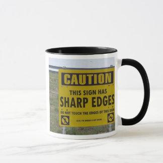 Sharp edges mug