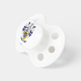Sharp Family Crest Coat of Arms Pacifier
