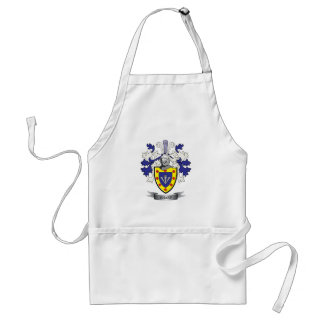 Sharp Family Crest Coat of Arms Standard Apron