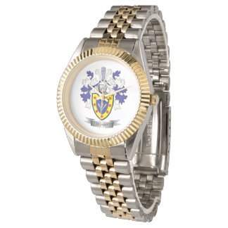 Sharp Family Crest Coat of Arms Watch