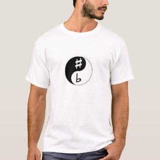 Sharp & Flat - Ying & Yang T-Shirt