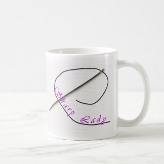 Sharp Lady (I think you're missing my point.) Classic White Coffee Mug