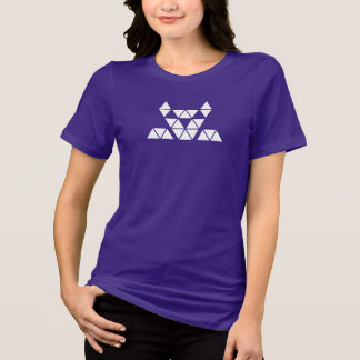 sharp lion women's violet jersey tshirt HQH