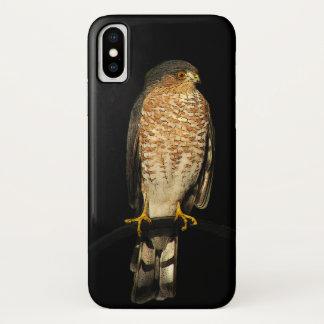 Sharp Shinned Hawk iPhone X Case
