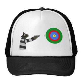 Sharp Shooting Tom Cat Trucker Hat