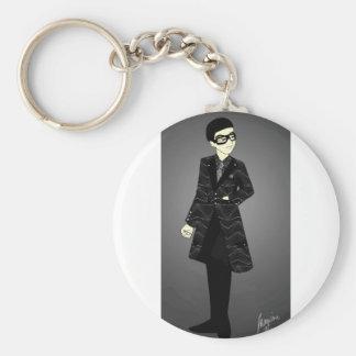 Sharp Suit Keychain