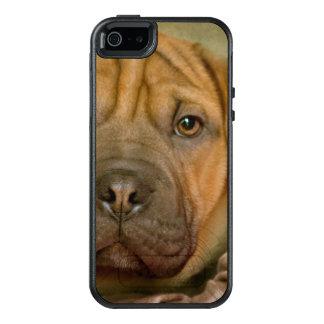 Sharpei-Beagle Puppy OtterBox iPhone 5/5s/SE Case