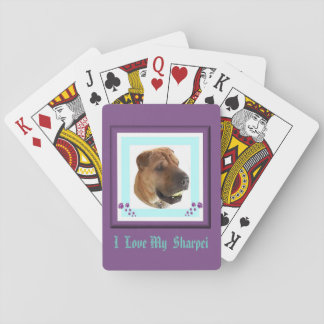 Sharpei  Deck  of Playing Cards