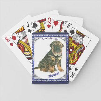Sharpei Playing Cards