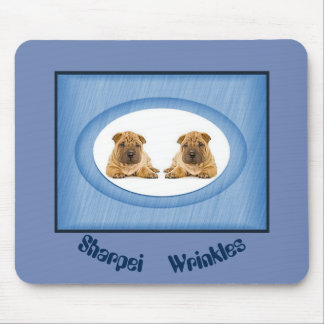 Sharpei Wrinkles Mousepad