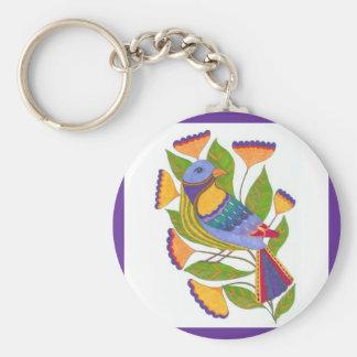 Sharpie Marker Bird Keychain