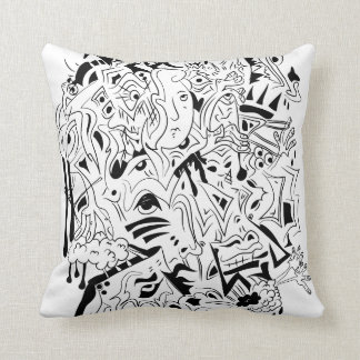 Sharpie Mix - The Woman Behind It All... Throw Throw Pillow