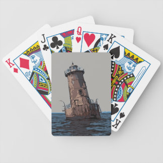 SHARPS ISLAND LIGHT BICYCLE PLAYING CARDS