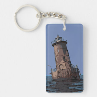 SHARPS ISLAND LIGHT KEYCHAIN