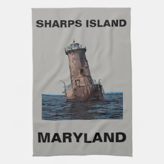 SHARPS ISLAND LIGHT KITCHEN TOWEL