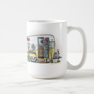 Shasta Camper Trailer RV Coffee Mug