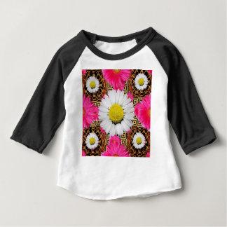Shasta Daisy & Pink Gerbera Gifts Baby T-Shirt