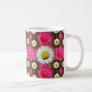 Shasta Daisy & Pink Gerbera Gifts Coffee Mug