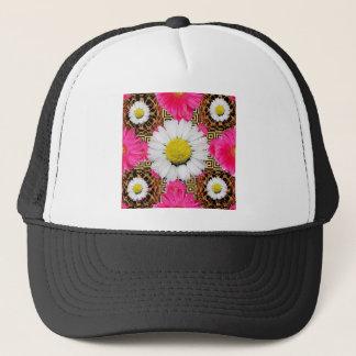 Shasta Daisy & Pink Gerbera Gifts Trucker Hat