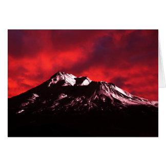 Shasta Red Cloud Card