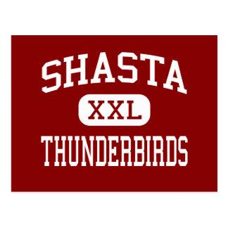 Shasta - Thunderbirds - Middle - Eugene Oregon Postcard