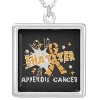 Shatter Appendix Cancer Custom Necklace