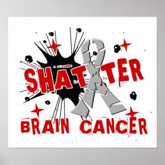 Shatter Brain Cancer Poster