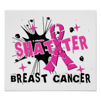 Shatter Breast Cancer Poster