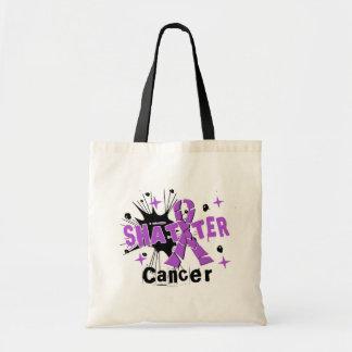 Shatter Cancer Canvas Bag
