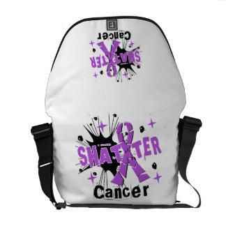 Shatter Cancer Messenger Bags